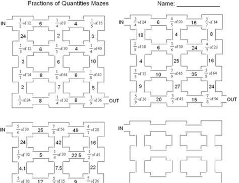 fractions of quantities fracţii math