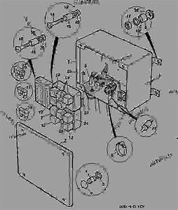 Fuse Box  U0026 Relays - Construction Jcb 410m-1d