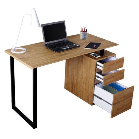 Techni Mobili Computer Desk With Side Cabinet by 17 Best Ideas About Desk Storage On Desk