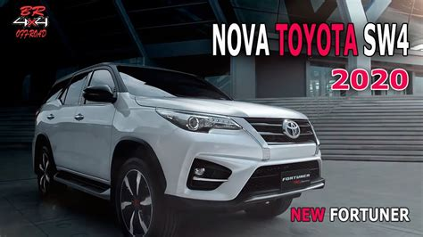 Toyota Fortuner 2020 by New Toyota Hilux Sw4 2020 Fortuner Facelifit