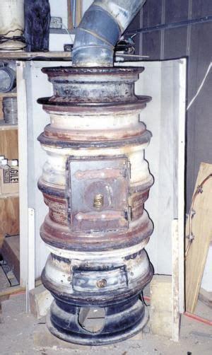 farm show wood burning wheel rim stove wood heater