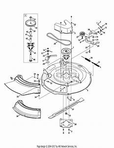 Mtd 13ac26jd058  2015  Parts Diagram For Mower Deck