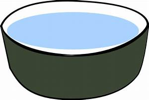 Dog Water Bowl Clipart - Clipart Suggest