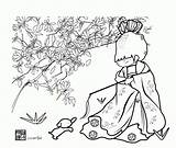 Coloring Bamboo Popular sketch template