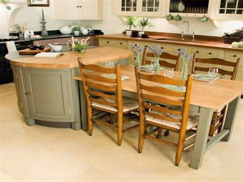 kitchen islands table kitchen island with table attached tjihome