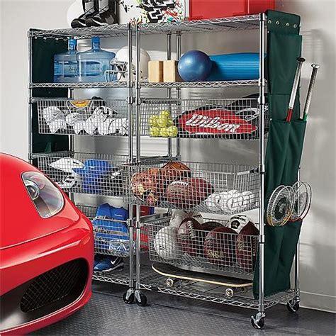 garage sports storage justshelfit is new york city top steel shelving racks
