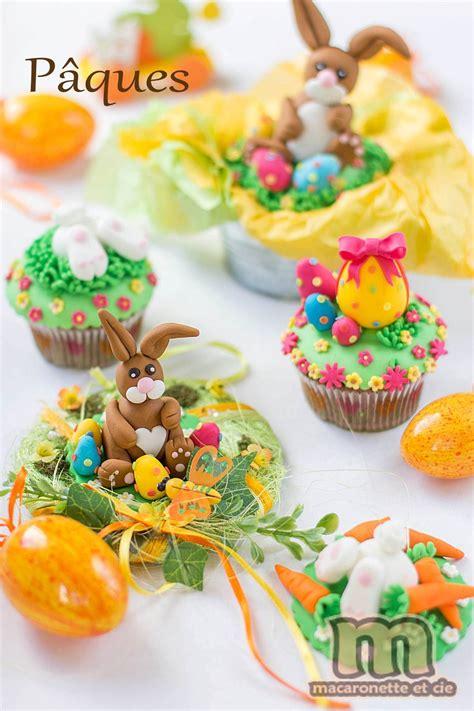 petites decorations de paques en pate  sucre ou pate