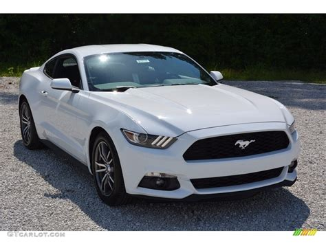 Mustang Ecoboost 2017 by 2017 Oxford White Ford Mustang Ecoboost Coupe 114382251