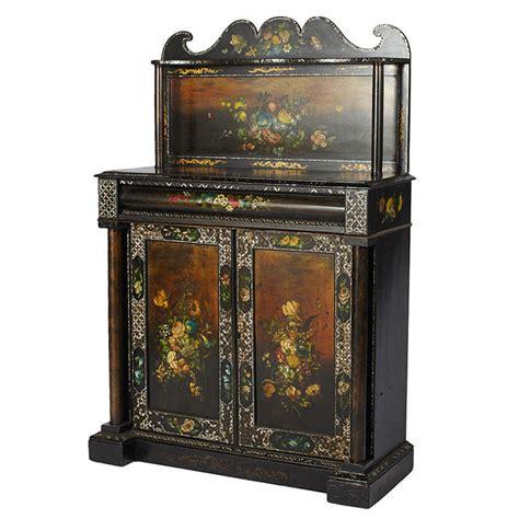 Cupboard Origin Of Word by Of Pearl Painted Cupboard At 1stdibs
