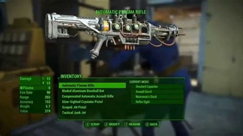 find unique  exceptional weapons  fallout
