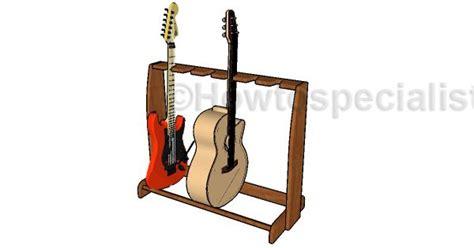 guitar stand plans diy plans pinterest furniture