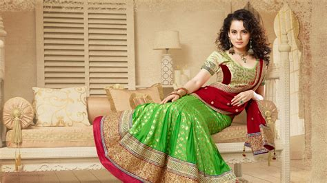 kangana ranaut  traditional saree wallpapers hd