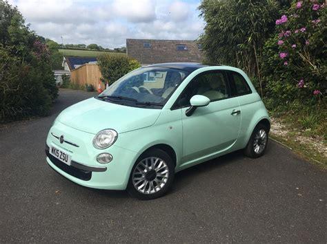 Fiat 500 1.2 Lounge Mint Green ** Fsh, 1 Careful Lady