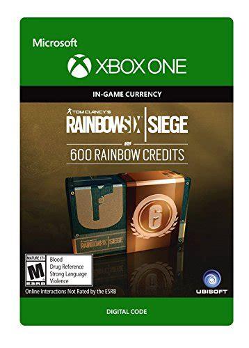 siege microsoft usa tom clancy 39 s rainbow six siege currency pack 600 rainbow