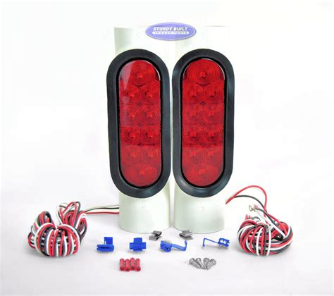 Replacing Boat Trailer Tail Lights by Pipe Lights Led Pvc Pair For Boat Trailer Guide Poles