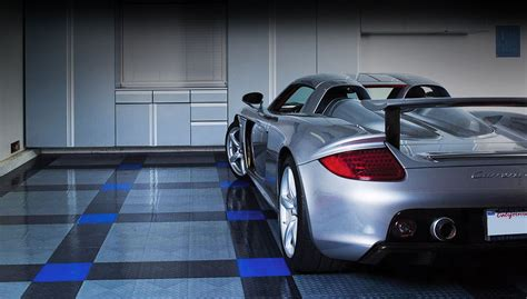 racedeck flooring epoxy flooring rubber tile garage