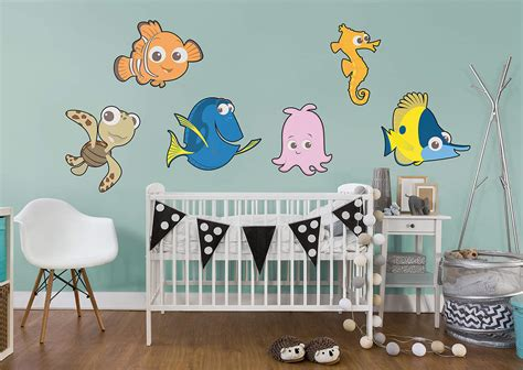 Finding Nemo Kids Collection Wall Decal