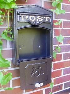 Briefkasten Holz Antik : wand briefkasten postkasten post antik stil aluguss alu wandbriefkasten ~ Sanjose-hotels-ca.com Haus und Dekorationen