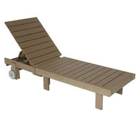 recycled plastic outdoor chaise lounge patio at sun country