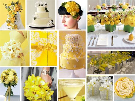 yellow and green wedding decorations wedding decorations