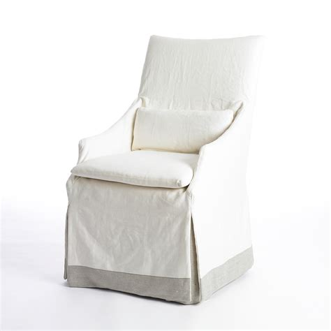 white slipcovered chair ideas homesfeed