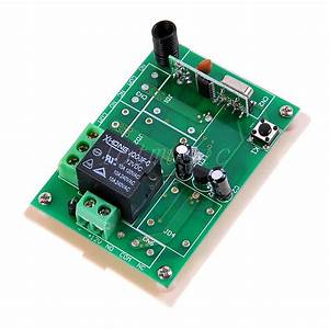 4sets 12v 1 Channel Wireless Remote Control Receiver
