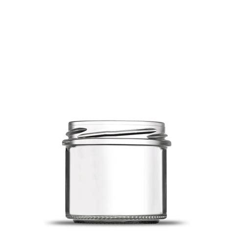 petit pot verre vide de forme rond 10 cl