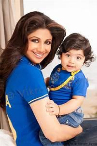 Viaan Raj Kundta's first photoshoot with mother Shilpa ...
