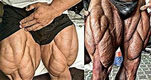Watch  These Are Some Of The Biggest  Freakiest Legs In