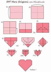 Herz Falten Origami : origami herz my blog ~ Eleganceandgraceweddings.com Haus und Dekorationen