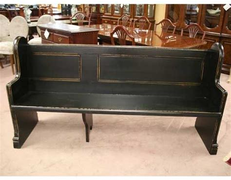 I Have A Church Pew Bench Like This Unfinished. Thinking