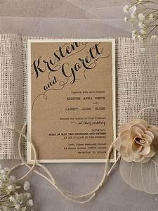 finding a good and unique wedding invitation images is the With unusual rustic wedding invitations