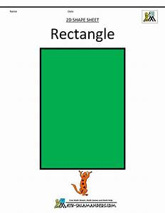 Pics For > Pictures Of Rectangle Shaped Objects For Kids