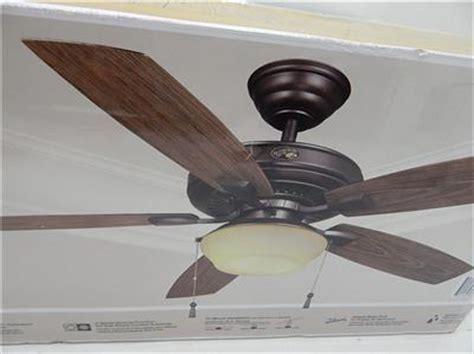 lightweight gazebo ceiling fan hton bay 791647 52 quot gazebo ii plus ceiling fan w light