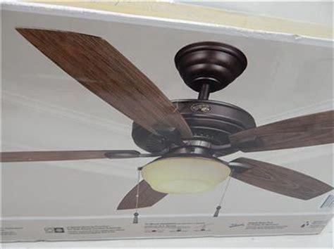 lightweight gazebo ceiling fan hton bay 791647 52 quot gazebo ii plus ceiling fan w light