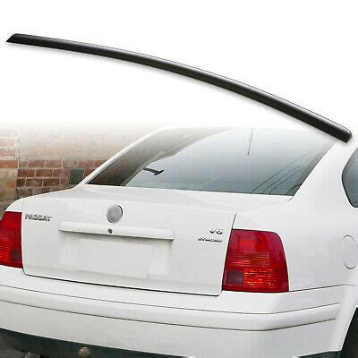 Fyralip Rear Trunk Lip Spoiler for VW Passat B5 B5.5 Sedan ...