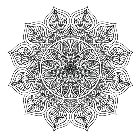 mandala to color free colouring pages 5 stunning mandalas to colour from