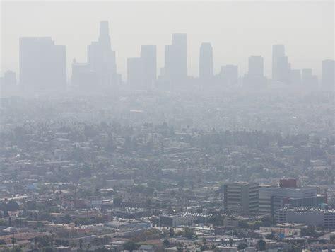 la county freeway  belches   smog los