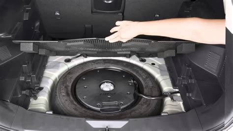 2013 nissan rogue spare tire and tools 2015 nissan rogue spare tire and tools youtube
