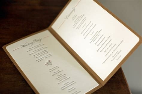 Mary Bens Elegant And Rustic Day Of Wedding Stationery