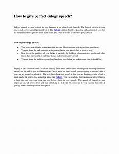 colorful eulogy templates for father gallery resume With how to write a eulogy template