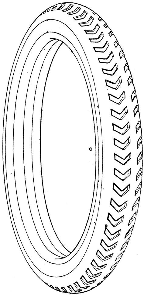 small vehicle tire clipart