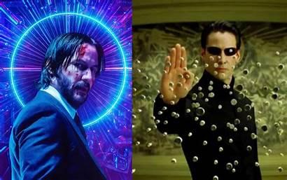 Wick Matrix John Reeves Keanu Film Akan