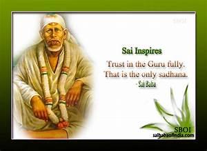 Sai Baba's ... Shirdi Sai Motivational Quotes