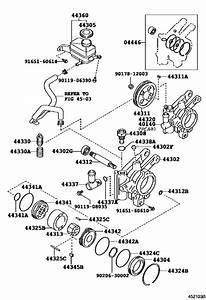 Vane Pump  U0026 Reservoir  Power Steering  For 2000