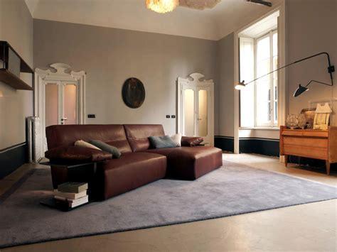 brown leather sofa interior design ideas ofdesign