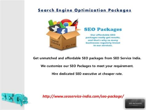 Search Engine Optimization Packages - affordable seo package india search engine optimization