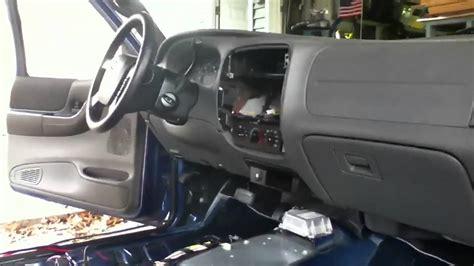 ford ranger interior removed youtube