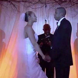 jay z shares beyonce wedding video as he slides ring on With jay z wedding ring