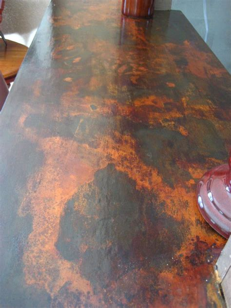 decorative counter top resurfaced   laminate